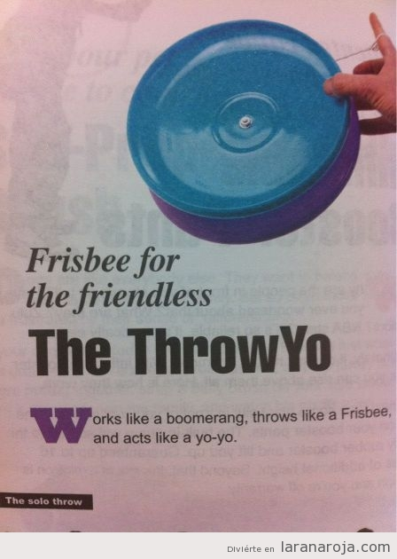 Frisbee para forevers Alone