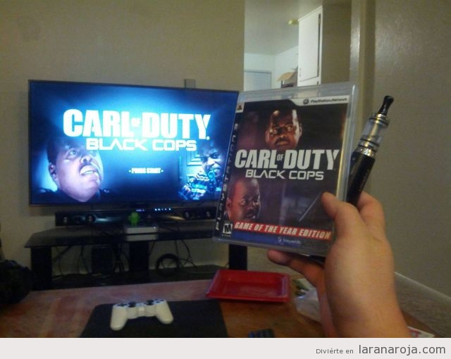 Carl of Duty, el videojuego Call of Duty interpeetado por Carl Winslow, de Cosas de Casa