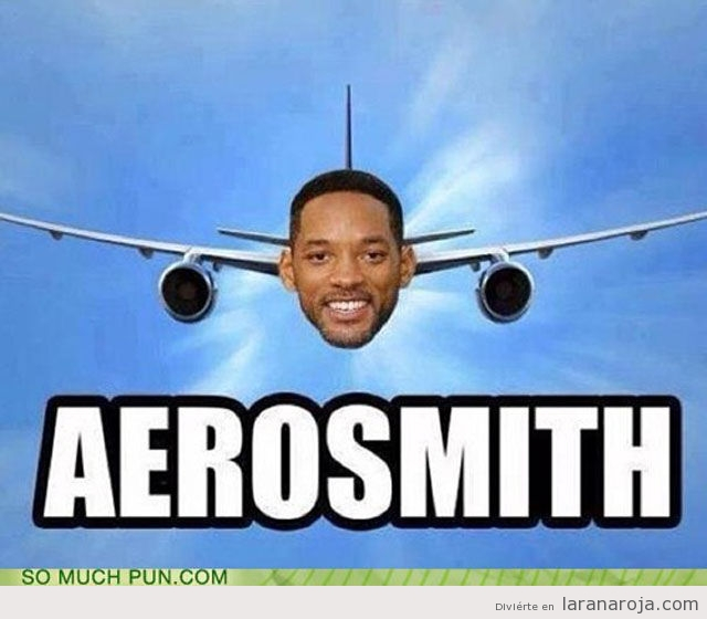 Aerosmith, Will Smith en un avión