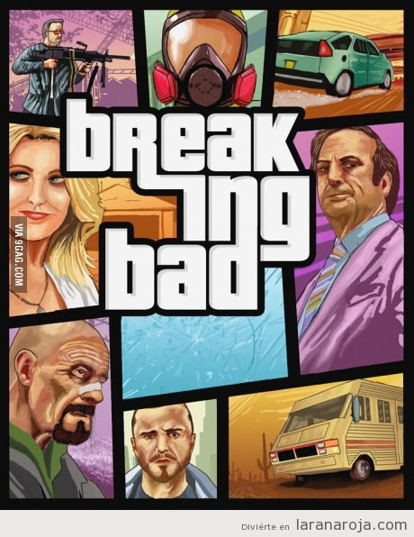Grand Theft Auto Breaking Bad