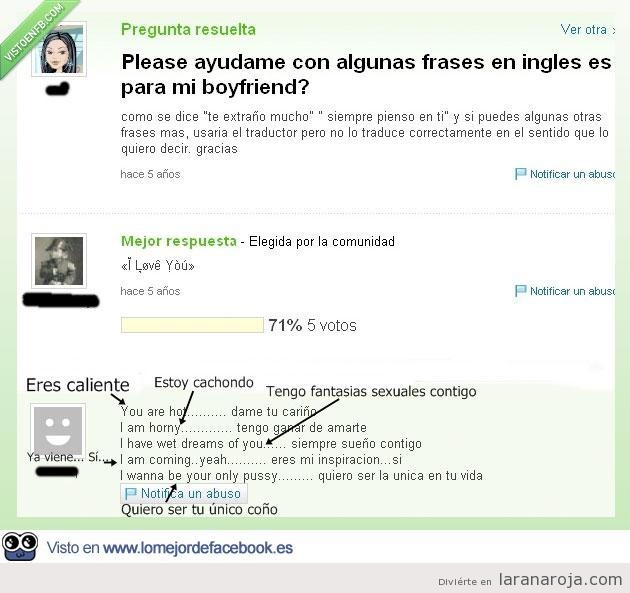 Trolleo gracioso en Yahoo answers