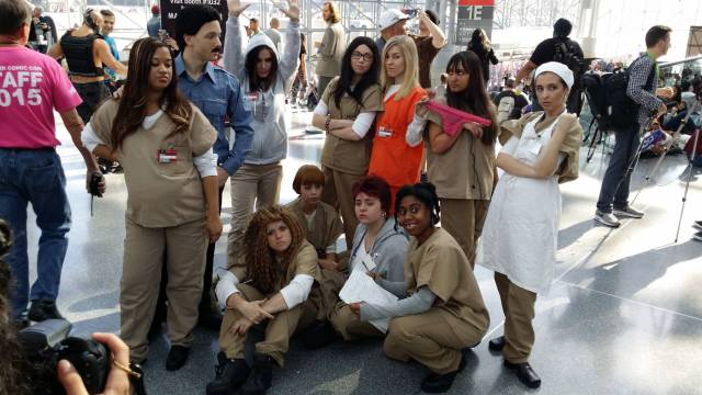 Disfraz divertido en grupo, Orange is the new black