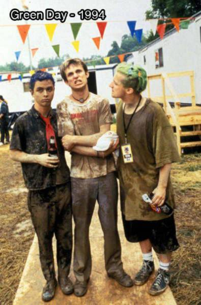 Foto del grupo Green Day en 1994